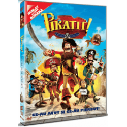 Piraţii! O bandă de neisprăviţi / The Pirates! Band of Misfits - DVD