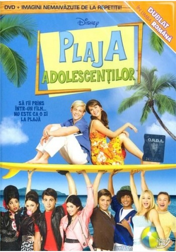 PLAJA ADOLESCENŢILOR / TEEN BEACH MOVIE - DVD