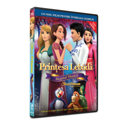 Printesa Lebada: Regatul Muzicii / The Swan Princess: Kingdom of Music - DVD