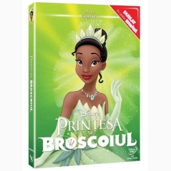 PRINŢESA ŞI BROSCOIUL / PRINCESS AND THE FROG, THE - DVD