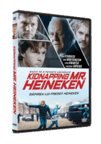 Răpirea lui Freddy Heineken / Kidnapping Mr. Heineken - DVD