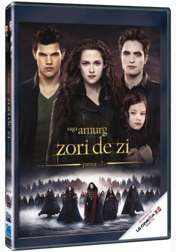 SAGA AMURG 4: ZORI DE ZI PARTEA II / TWILIGHT SAGA, THE: BREAKING DAWN Part 2 - DVD
