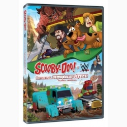 SCOOBY DOO ŞI BLESTEMUL DEMONULUI VITEZEI / SCOOBY-DOO AND WWE: CURSE OF THE SPEED DEMON  - DVD