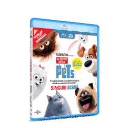 Singuri acasă / The Secret Life of Pets - BLU-RAY 3D+2D