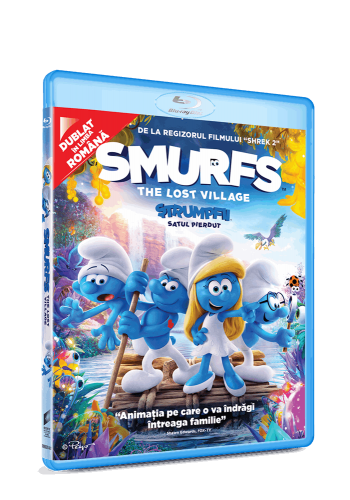 Ștrumfii: Satul pierdut / Smurfs: The Lost Village - BLU-RAY