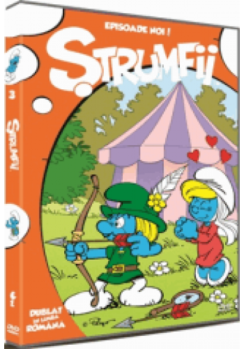 Ștrumfii Volumul 3 / The Smurfs - DVD