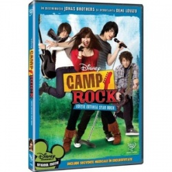 TABĂRA DE ROCK / CAMP ROCK - DVD