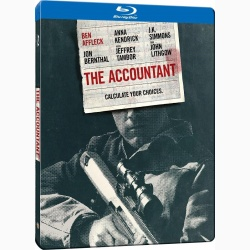 THE ACCOUNTANT: CIFRE PERICULOASE Stellbook / ACCOUNTANT Steelbook - BD Steelbook