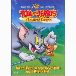 TOM & JERRY CELE MAI TARI URMĂRIRI Vol.1 / TOM & JERRY - GREATEST CHASES Vol.1 - DVD