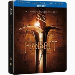 HOBBITUL TRILOGIA + Jurnal Bilbo / HOBBIT TRILOGY, THE - BD