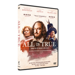 Ultima poveste a lui Shakespeare / All is True - DVD