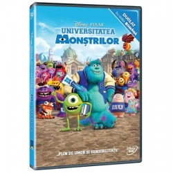 UNIVERSITATEA MONŞTRILOR / MONSTERS' UNIVERSITY - DVD