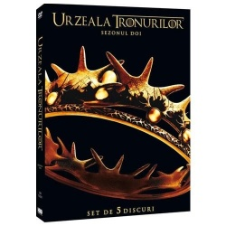 URZEALA TRONURILOR Sezonul 2 / GAME OF THRONES Season 2 (5disc) - TV Series