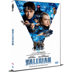 Valerian şi Oraşul Celor o Mie de Planete / Valerian and the City of a Thousand Planets - DVD
