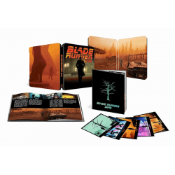 Vânătorul de recompense 2049 / Blade Runner 2049: X-Mas Pack Steelbook Limited Collector's Edition - BLU-RAY 2D + disc bonus + booklet + 5 postcards