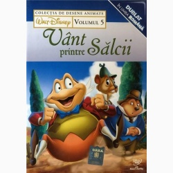 COLECŢIE DISNEY: VÂNT PRINTRE SĂLCII Vol. 5 / DISNEY COLLECTION: WIND IN THE WILLOWS Vol.5 - DVD