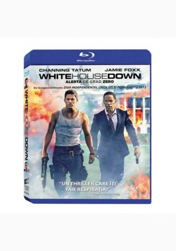 Alertă de Grad Zero / White House Down - BLU-RAY