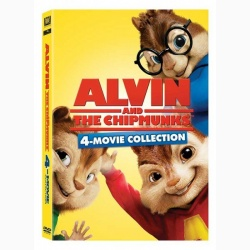 ALVIN SI VEVERITELE BOX SET (4 TITURI)