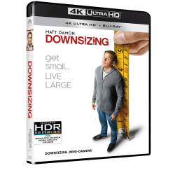 DOWNSIZING. MINI-OAMENII UHD COMBO (UHD+BD)