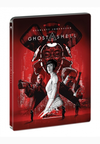 GHOST IN THE SHELL STEELBOOK (3D+2D)