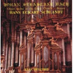 Hans Eckart Schlandt - J.S. Bach - Organ Recital At The Black Church - Brasov