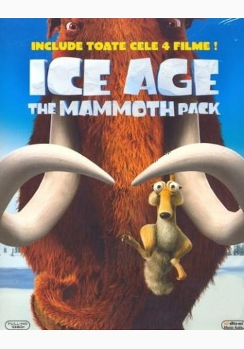 ICE AGE A MAMMOTH PACK (Pachet 4 discuri)