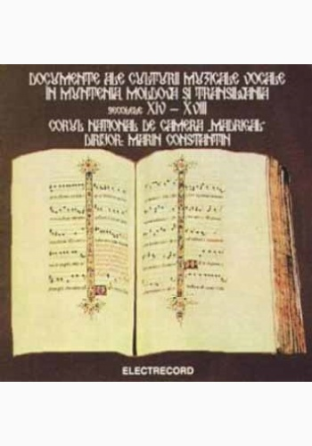 Madrigal - Documents Of Vocal Culture In Wallachia, Moldova And Transylvania